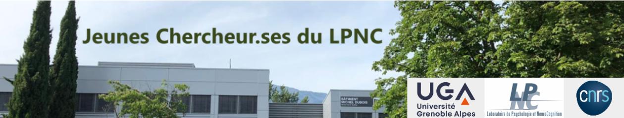 Rencontres jeunes chercheur·ses du LPNC